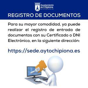 En marcha la sede electrónica del Ayuntamiento de Chipiona que permite a los ciudadanos registrar documentos a través de Internet