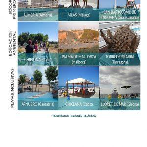 Las playas de Chipiona reciben una mención especial en educación ambiental