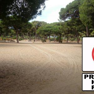 El Ayuntamiento de Chipiona recuerda que mañana entra en vigor la prohibición de hacer fuego en espacios forestales