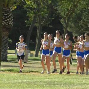 10 jóvenes corredoras del Club Atletismo Chipiona representan a la  localidad este fin de semana en el Campeonato de Andalucia de atletismo sub 14.