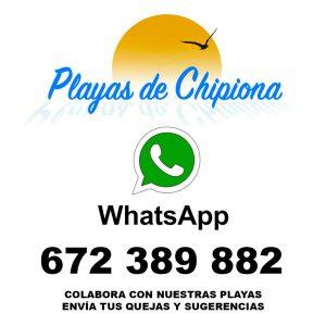En funcionamiento el número de teléfono para comunicar sugerencias  y reclamaciones sobre las playas de Chipiona