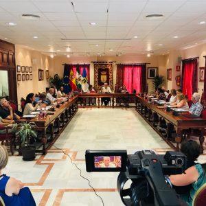Celebrado el pleno de organización y funcionamiento del Ayuntamiento de Chipiona