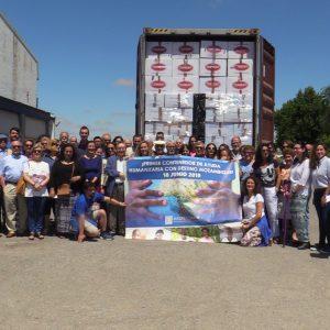 Jabón, juguetes, material escolar y sanitario completan los 18.000 kilos de ayuda humanitaria del primer contenedor a Mozambique que Madre Coraje envía en su historia