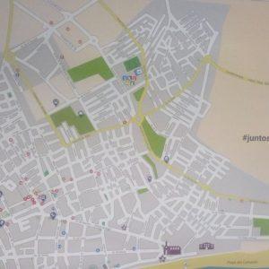 Acitur lanza una edición de 20.000 planos informativos de la localidad