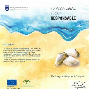 El Ayuntamiento de Chipiona se suma a una campaña a favor de una pesca legal y responsable