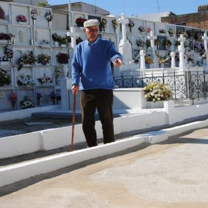 Diez vecinos de Paterna de Rivera, cuyos restos se recuperaron de una fosa, recibirán el domingo un entierro digno