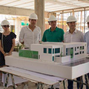 De la Encina confirma el apoyo de Diputación a la construcción de la guardería inclusiva que promueve Afanas en Sanlúcar