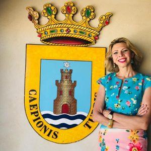 Marina Bernal mantendrá el miércoles 14 en el Castillo un encuentro con los lectores de su libro 'Anónimos Infinitos'