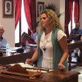 Luz María Caraballo anuncia que hoy ha comenzado a trabajar la primera persona de la bolsa de auxiliares de ayuda a domicilio