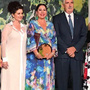 La exaltación al vino moscatel llevó a María José Barragán-Álvarez de sus vivencias a la particular mirada de pregoneros anteriores