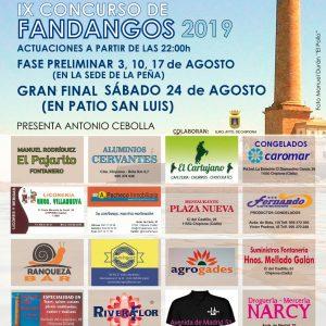 Seis cantaores participarán este sábado en la final de la novena edición del Concurso de fandangos de la Peña Flamenca José Mercé
