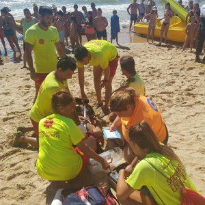 Las playas de Regla y Camarón fueron escenario ayer de dos simulacros de emergencia exigidos por sus certificaciones de calidad