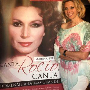 El próximo martes verá la luz 'Canta, Rocío, canta', un libro de Marina Bernal homenaje a Rocío Jurado y sus seguidores