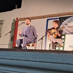 José Antonio Romero 'El Perrito' brillante ganador del  Concurso de fandangos de la Peña Flamenca José Mercé