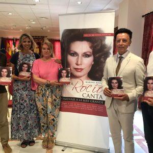 Presentado oficialmente el libro 'Canta, Rocío, canta' de Marina Bernal, un homenaje a Rocío Jurado y sus seguidores