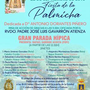 La Hermandad del Pinar dedica este año la Fiesta de la Palmicha a Antonio Dorantes Piñero