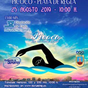 Ampliado hasta el 22 de agosto el plazo para inscribirse en la Travesía a nado Picoco-Playa de Regla que se disputará este domingo