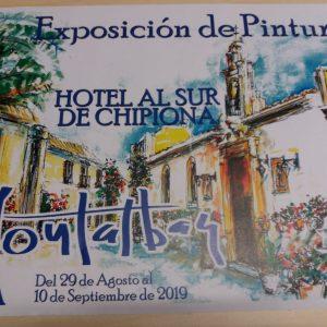 Diego Montalbán muestra sus últimas creaciones en el Hotel Al Sur de Chipiona en su particular homenaje a las Fiestas de Regla