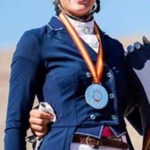 Lucía López subcampeona de España de Doma Clásica en la categoría U25