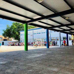 1820 alumnos han comenzado hoy en Chipiona el curso escolar en Infantil y Primaria