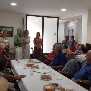 Presentado el nuevo curso en el Centro de Mayores con un acto de convivencia