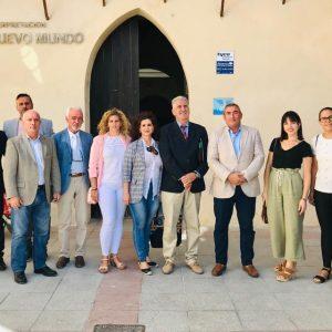 La escuela de hostelería, la segunda fase de Los Argonáutas y las mejoras deportivas temas centrales en la visita de Miguel Andreu
