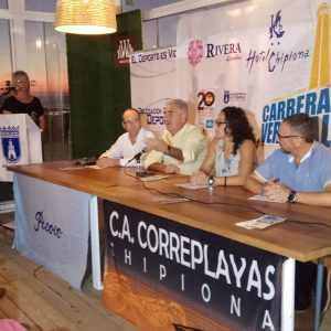 La Carrera Vertical Faro de Chipiona se presenta con el aumento a 40 del número de equipos y a 160 del de participantes