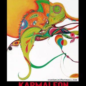 Antonio Rueda vuelve como cada otoño a la sala del Chusco – Casa Manolo con una nueva muestra cargada de color que titula 'Karmaleón'