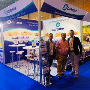 La empresa de Chipiona Caromar ofreció sus productos entre el sector agroalimentario en la muestra Andalucía Sabor 2019