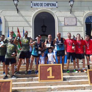 El equipo Caromar Team se proclama vencedor absoluto de la II edición de la carrera vertical Faro de Chipiona