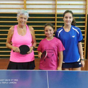 Top de Mujeres de Tenis de Mesa