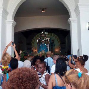 La Virgen de Regla de Cuba en procesión terrestre y marítima este 7 de septiembre
