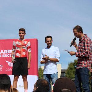 El chipionero Manuel Rodríguez consigue el tercer puesto en categoría infantil en la Carrera de Escuelas Cofidis de la Fundación Alberto Contador