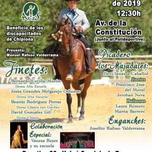 La afición al caballo se cita este sábado en el tradicional festival  a beneficio de ADIS que este año se traslada al otoño