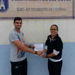 Laura Román se congratula de la creación de un nuevo club deportivo en Chipiona