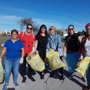 El cuidado del medio natural y el reciclaje centran la celebración en Chipiona del Día de la Mujer Rural