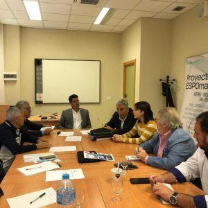 Aparcero anuncia que la Universidad de Cádiz colaborará en el proyecto de conectar por vía marítima Chipiona y Mazagón