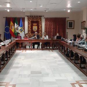 Aprobados por unanimidad todos los asuntos tratados en el pleno de la corporación chipionera celebrado ayer