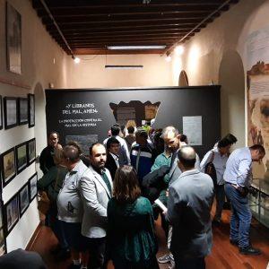 La Asociación Caepionis ofrece en el Castillo una completa muestra de la lucha del hombre a través de la historia por librarse del mal