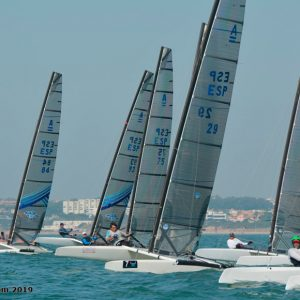 Antonio Limón 9º en el II Trofeo Puerto Sherry de Catamarán Clase A