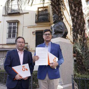 Ciudadanos propone que Sevilla sea la próxima sede del encuentro de la Red de Ciudades Cervantinas
