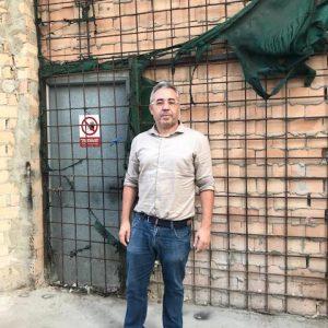 Pepe Mellado anuncia la licitación del adecentamiento de las fachadas del antiguo Patio del Hotel Cruz del Mar