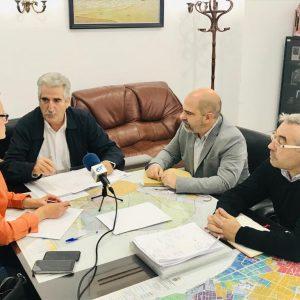 El diputado provincial Manuel Chacón trata con el gobierno municipal las próximas actuaciones y el desbloqueo de inversiones pendientes
