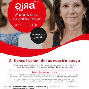 La próxima semana parará en Chipiona la Gira Mujeres que busca impulsar ideas para crear un negocio propio