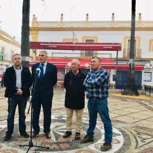 El Ayuntamiento paraliza la ejecución del arreglo de Pio XII hasta encontrar los cantos adecuados para que la plaza luzca perfectamente restaurada