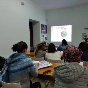 FADEMUR ha realizado en Chipiona un taller del proyecto 'Cuidándonos para un futuro mejor' de sensibilización sobre el envejecimiento activo