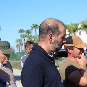 Adelante Cádiz exige una solución al Camino de la Reyerta en Sanlúcar y manifiesta su compromiso para encontrar su solución