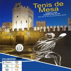 LXV Campeonato  de Andalucía de tenis de mesa en El Puerto de Santa María