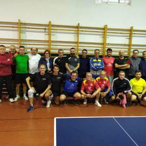 Celebrada la 1º Concentración veteranos de tenis de mesa 2019-20