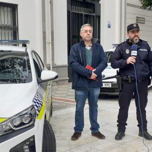 Presentado un vehículo eléctrico destinado al servicio de la Policía Local de Chipiona